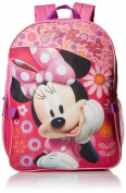 Minnie Mouse Girls' Backpack with Detachable Lunch Bag
