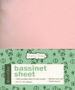 Comfy Baby Super Soft Microfiber Fitted Bassinet Sheet