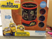 DESPICABLE ME MINIONS COLOUR CHANGING LIGHT PROJECTOR KIDS BEDROOM LIGHT LAMP