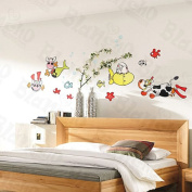 Cows Under The Sea - Large Wall Decals Stickers Appliques Home Decor