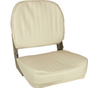 Springfield 1040629 White Standard Economy Folding Chair