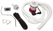 Attwood Corporation 4614-7 1.5m Hose with Clamps Bilge Pump Installation Kit