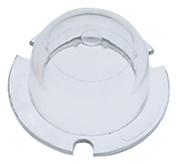 Perko 0074DP0WHT White Marine Replacement Lens for 135 Degree Stern Light