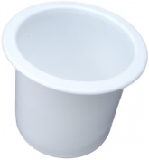 2 7/8 White Cup Holder