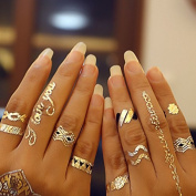 Finger Tattoos Gold, Flash Tattoos Fashion Jewellery Bracelets Ring Gold ring Gift W-169 - LK Trend & Style