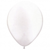 Pioneer Balloon Company 25 Count Latex Balloon, 28cm , Pearl White