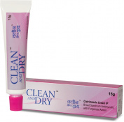 Clean & Dry Intimate Cream Feminine Hygiene Vaginal 15gm