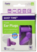 Flents Quiet Time Comfort Foam Ear Plugs - 10 Pair