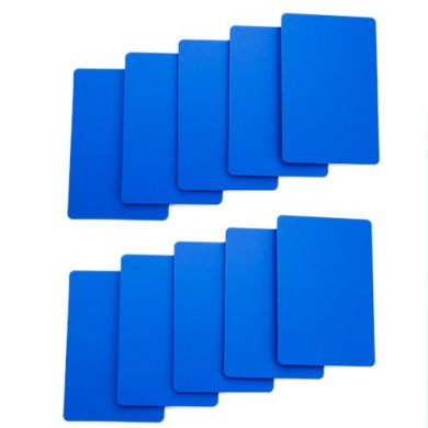 Brybelly Lot of 10 Bridge Size Cut Cards (Blue)