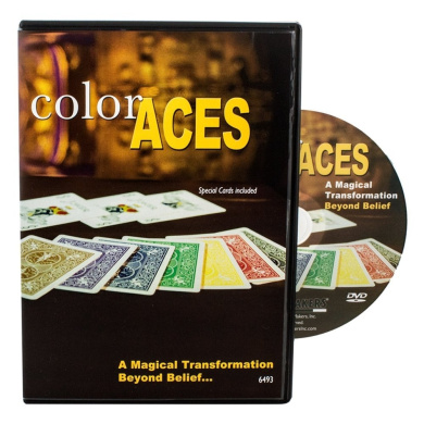 Rock Ridge Colour Aces Card Magic Trick - With Instructional DVD