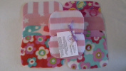 Easy Peasy Washable Baby Wipes Pk 20 Girl prints