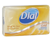 Dial 1601061 Gold Antibacterial Deodorant Wrapped Bar Soap, 120ml Size