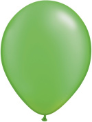 Pioneer Balloon Company 100 Count Latex Balloon, 28cm , Pearl Lime Green