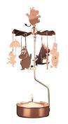 Pluto Produkter Moomin Family Rotary Candleholder Copper