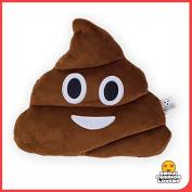 Emoji Cushion Lovers Poo Emoji Cushion