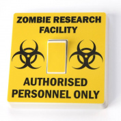 Zombie Research Facility - Light Switch Vinyl Sticker