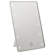 Bright Cosmetic LED Travel Mirror with Stand