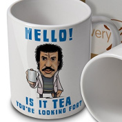 Lionel Richtea Cartoon Mug - Hello is it tea you're looking for. - Mug