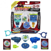 Beyblade Shogun Steel Battle Tops Synchrome Double Pack Assorted