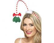 Smiffy's Mistletoe Kisses Headband