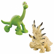 Disney The Good Dinosaur Arlo and Forrest Woodbush Action Figures