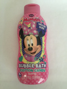 Minnie Mouse Bubble Bath Cotton Candy Scented
