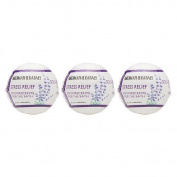 Spa...ah Fizzie Ball - Stress Relief (Lavender Essential Oil) - 260ml - 3ct