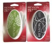 (TWO PACK) Revlon File 'n Peel Foot File #80696