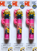 Despicable Me Minions Lip Balm Minion Topper Figurine Pack of 3