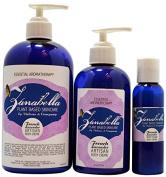 Zanabella Plant Based Skincare French Lavender Body Crème, 470ml