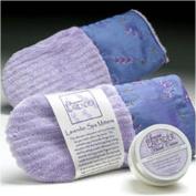 Sonoma Lavender Spa Mitts - Embroidered Lavender