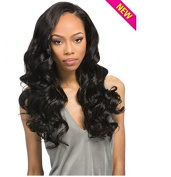 """Outre Simply 100% Non-processed Human Hair Brazilian Natural Flexi Curl Perfect7 10""""12""""14"""" Natural Brown"""