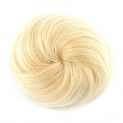 Yosoo Straight Drawstring Clip In Hair Bun Piece Updo Cover Hair Extensions