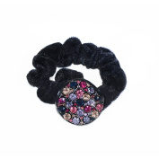Twinkle® Hair Accessories - Crystal Scrunchies - Circle X 1