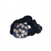Twinkle® Hair Accessories - Crystal Scrunchies - Square X1