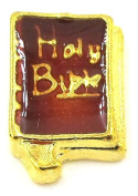 """Best Wing Jewellery """"Holy Bible"""" Floating Charm for Glass Lockets"""