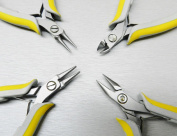 LINDSTROM® EX PLIERS SET 4PC EX KIT 7490 FLAT 7590 ROUND 7893 CHAIN 8141 CUTTER (LZ 1.4 FRE) NOVELTOOLS