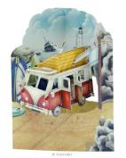Santoro 3D Swing Greeting Card, Campervan