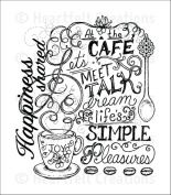 Heartfelt Creations Coffee Talk - Coffee Talk Background stamps