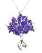 Peaceful Silver Tree of Life Necklace - Symbolic Jewellery - Christmas Gifts Idea