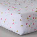 CircoTM Woven Fitted Crib Sheet - Sweet Kitty