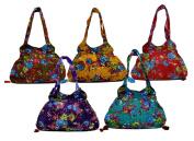 10 Cotton Canvas Ethnic Handcrafted Tote Hippie Shoulder Bag Wholesale Lot
