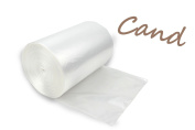 Cand 22.7l Clear Kitchen Garbage Bags,110 Counts