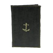 Maritime Embossed Journal - Anchor - Sold in Case Pack of 2