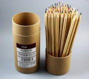 CHENGYIDA 60 Coloured Art Pencils - Drawing Pencils for Artist Sketch/ Adult Secret Garden Colouring Book/ Kids Artist Writing/ Manga Artwork