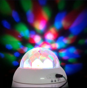 Rotating Colourful Romantic Sky Starry Artificial Diamond Projection Music Lamp Creative Gifts