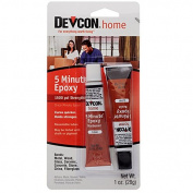Devcon 2-Part Epoxy Adhesive, Mini Size Tubes, 30ml