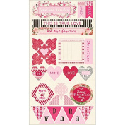 Adore Cardstock Die-Cuts 15cm x 30cm -Components