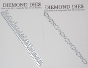 Diemond Dies Icicle Border Die and Holly Border Die Bundle