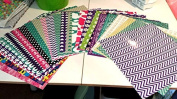 GRAB BAG of MIXED PATTERN Craft Vinyl! 6 12x12 Pieces Perfect for Vinyl Cutters